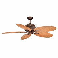 Vaxcel FN52307WP Aspen Rustic Weathered Patina Finish 52  Wide Ceiling Fan