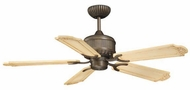 Vaxcel FN52310PZ Toffe Parisian Bronze Finish 16.25  Tall Ceiling Fan