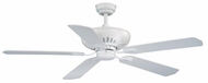 Vaxcel FN52314W Chastity White Finish 52  Wide Home Ceiling Fan