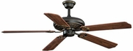 Vaxcel FN52315OR Victoria Oil Rubbed Bronze Finish 52  Wide Home Ceiling Fan