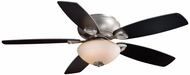 Vaxcel FN52434BN Montreux Brushed Nickel Finish 13.5  Tall Ceiling Fan
