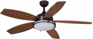 Vaxcel FN52447OBB Taliesin Oil Burnished Bronze Finish 32.5  Tall Ceiling Fan