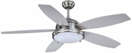 Vaxcel FN52447SN Taliesin Satin Nickel Finish 52  Wide Home Ceiling Fan