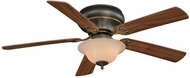 Vaxcel FN52473OR Porter Oil Rubbed Bronze Finish 15.5  Tall Ceiling Fan