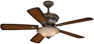 Vaxcel FN52994OBB Riviera Oil Burnished Bronze Finish 52  Wide Home Ceiling Fan