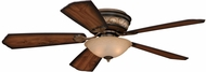 Vaxcel FN52995OR Riviera Oil Rubbed Bronze Finish 13  Tall Ceiling Fan