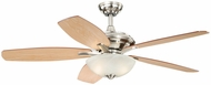 Vaxcel FN52998SN Valencia Satin Nickel Finish 52  Wide Home Ceiling Fan