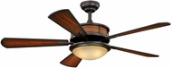 Vaxcel FN52999OBB Maritime Oil Burnished Bronze Finish 18  Tall Ceiling Fan
