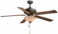 Vaxcel FN60212OR Pamplona Oil Rubbed Bronze Finish 60  Wide Home Ceiling Fan