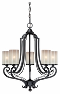 Vaxcel H0018 Elba New Bronze 27.5  Tall Mini Chandelier Light