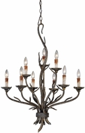 Vaxcel H0073 Monterey Country Autumn Patina Finish 36.125  Tall Lighting Chandelier