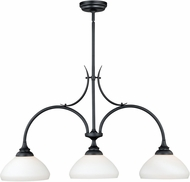 Vaxcel H0134 Grafton Oil Rubbed Bronze Mini Ceiling Chandelier