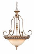 Vaxcel KB-PDU280TZ Kimball Traditional Tuscan Bronze Finish 28  Wide Lighting Pendant