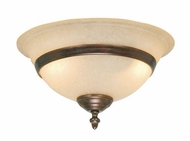 Vaxcel LK2180 Da Vinci 7.25  Tall Fan Light Fixture