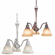 Vaxcel LS-CHD003 LaSalle 20  Tall Mini Chandelier Lamp