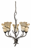 Vaxcel MY-CHU005AA Monterey Country Autumn Patina Finish 24.5  Wide Ceiling Chandelier