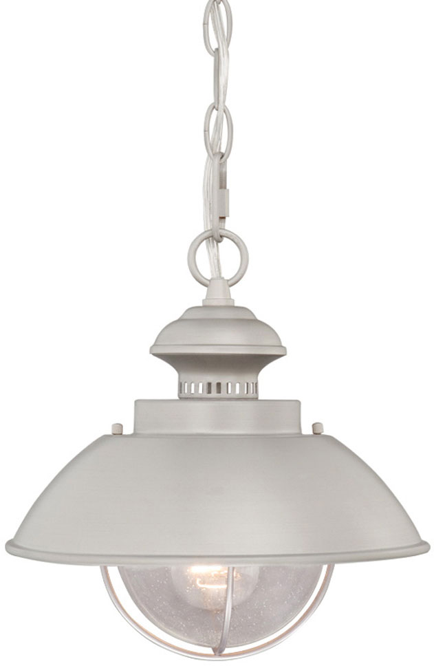 Vaxcel OD21518BN Harwich Nautical Brushed Nickel Finish 10 Wide Outdoor