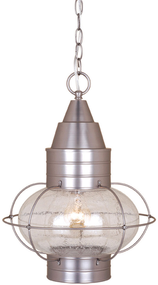 Vaxcel OD21836BN Chatham Nautical Brushed Nickel Finish 13 Wide Outdoor