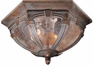 Vaxcel OF38713RBZ Essex Victorian Royal Bronze Finish 6.75  Tall Exterior Flush Lighting