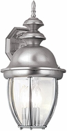 Vaxcel OW1513BN Capitol Brushed Nickel Outdoor Light Sconce