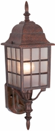 Vaxcel OW36761RBZ Vista Craftsman Royal Bronze Finish 19  Tall Exterior Light Sconce