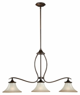 Vaxcel P0026 Sonora Venetian Bronze Finish 36  Wide Island Lighting