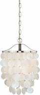 Vaxcel P0138 Elsa Satin Nickel Mini Pendant Lighting Fixture