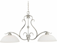 Vaxcel P0147 Hartford Satin Nickel Kitchen Island Lighting