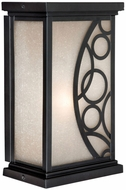 Vaxcel PO-OWD080NB Prosecco Craftsman Noble Bronze Finish 5.25  Wide Exterior Wall Lighting Sconce