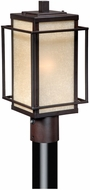 Vaxcel RB-OPU070EB Robie Craftsman Espresso Bronze Finish 15  Tall Exterior Post Light
