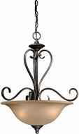 Vaxcel RV-PDD200VT Riviera Traditional Vintage Patina Finish 20  Wide Lighting Pendant