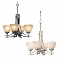 Vaxcel SE-CHU004 Sebring 16.75  Wide Mini Ceiling Chandelier