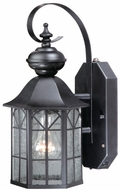 Vaxcel SR53128OR Tudor Traditional Oil Rubbed Bronze Finish 8.5 Wide Exterior Smart Lighting Wall Sconce