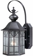 Vaxcel SR53129OR Tudor Traditional Oil Rubbed Bronze Finish 18.75 Tall Outdoor Smart Lighting Wall Lamp