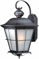 Vaxcel SR53131OR New Haven Traditional Oil Rubbed Bronze Finish 10.25 Wide Exterior Smart Lighting Wall Lighting
