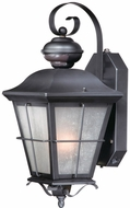 Vaxcel SR53132OR New Haven Traditional Oil Rubbed Bronze Finish 16 Tall Outdoor Smart Lighting Sconce Lighting