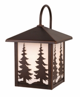 Vaxcel T0049 Yosemite Burnished Bronze Finish 12.5  Tall Exterior Post Light Fixture