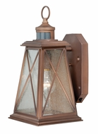 Vaxcel T0055 Mackinac Traditional Antique Red Copper Finish 8.5 Wide Outdoor Smart Lighting Lighting Wall Sconce