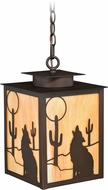 Vaxcel T0230 Calexico Burnished Bronze Outdoor Hanging Light