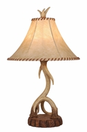 Vaxcel TB33066NS Lodge Rustic Noachian Stone Finish 27  Tall Table Light