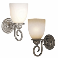 Vaxcel VL35921 Mont Blanc 11  Tall Wall Light Fixture