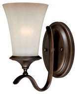 Vaxcel W0040 Sonora Venetian Bronze Finish 10.5  Tall Wall Light Fixture