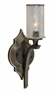 Vaxcel W0053 Simone Venetian Bronze Finish 6.75  Wide Wall Sconce Light