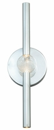 Vaxcel W0064 Axis Contemporary Chrome Finish 18  Tall LED Bath Lighting Fixture