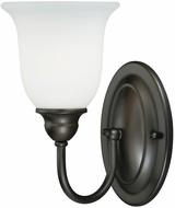 Vaxcel W0069 Concord Oil Rubbed Bronze Finish 11  Tall Wall Light Sconce