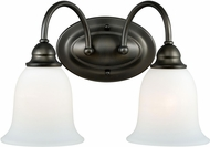 Vaxcel W0070 Concord Oil Rubbed Bronze 2-Light Vanity Light