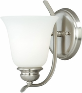Vaxcel W0089 Darby Satin Nickel Lighting Wall Sconce