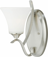 Vaxcel W0095 Cordoba Satin Nickel Wall Sconce Lighting