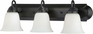 Vaxcel W0135 708 Series Oil Rubbed Bronze 3-Light Bathroom Sconce