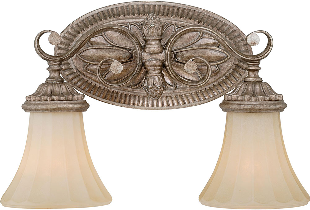 Vaxcel W0155 Avenant Traditional French Bronze 2-Light